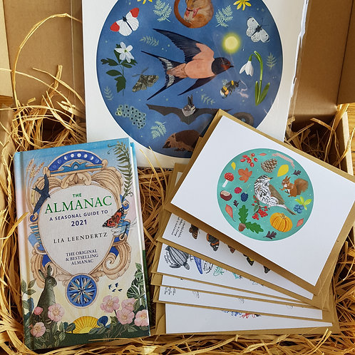 Nature-Lover's Art and Book Gift Box | Post Box