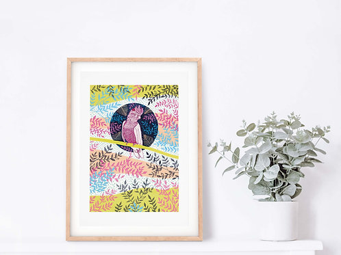 Cockatoo Giclee Art Print