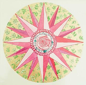 Spring Compass Rose