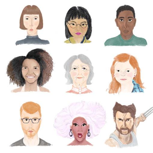 A Sheet of Faces