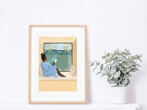 The Window Giclee Art Print
