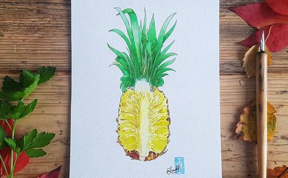 Pineapple Art