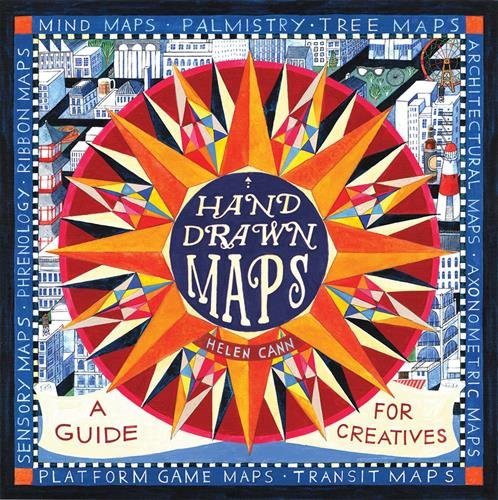Helen Cann's 2016 book on Hand Drawn Maps