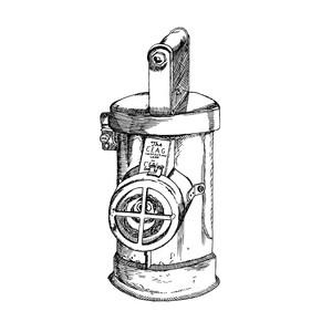 Antique Lamp Illustration