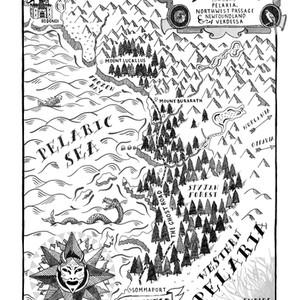 Bolgravian Empire Illustrated Map