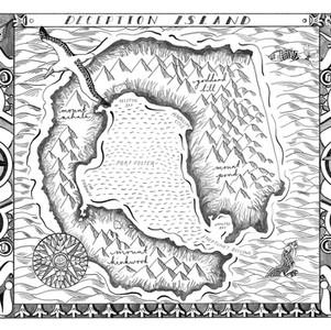 A map of Deception Island