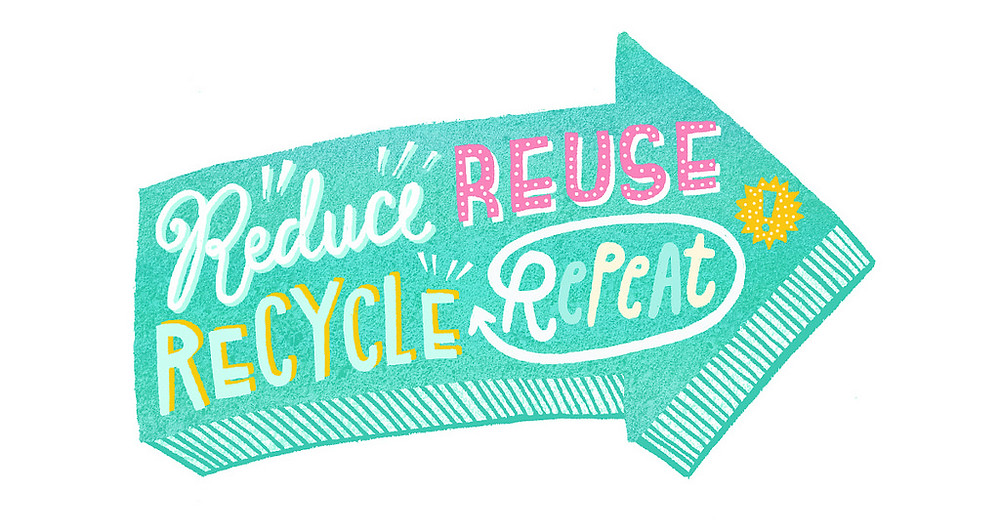 reduce reuse recycle close the loop