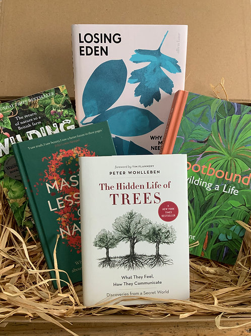 Ultimate Nature Lover's Book Box | Book Gift Set