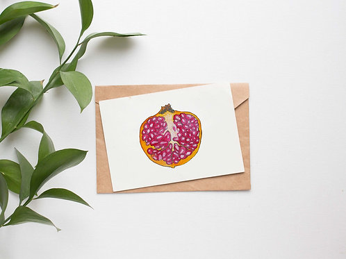 Only the Half of It Fruit & Botanical Cards | Original Designs | Eco Friendly