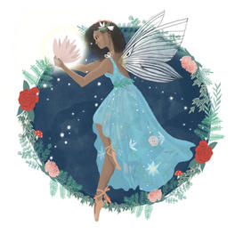 Flower Fairy Illustration