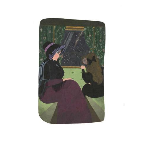 Illustration for The Secret Garden