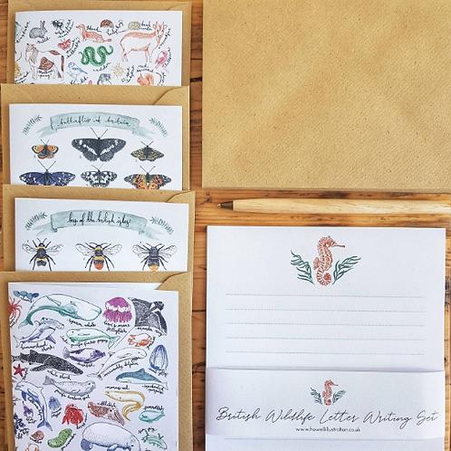 Sustainable Wildlife Letter Writing Set