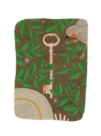 An Illustration for The Secret Garden