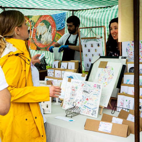 Howell Illustration's Markets for September and October