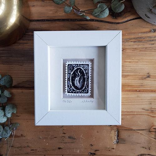 Will o' the Wisp Mini Stamp Art | Original Art | Howell Illustration