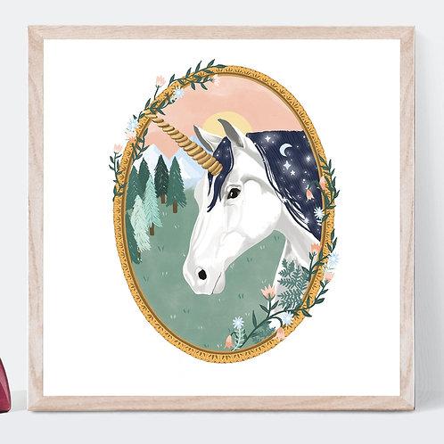 Unicorn Art Print | Original Design | Signed