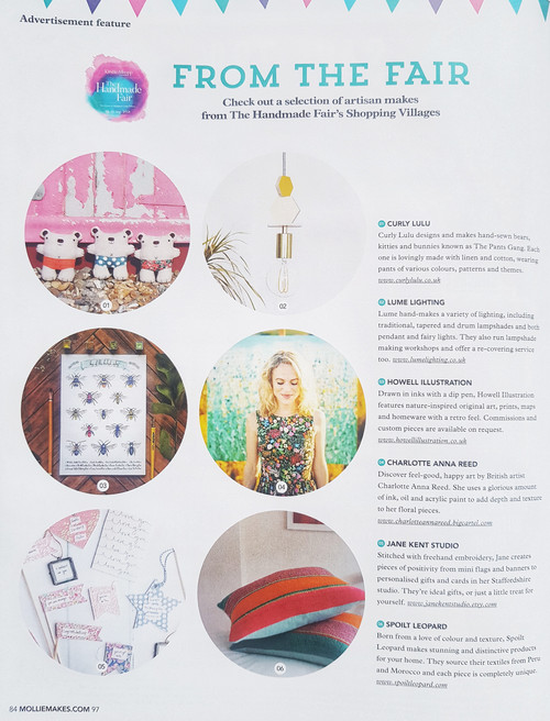 Howell Illustration in Mollie Makes