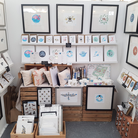 Howell Illustration's Markets for August and September