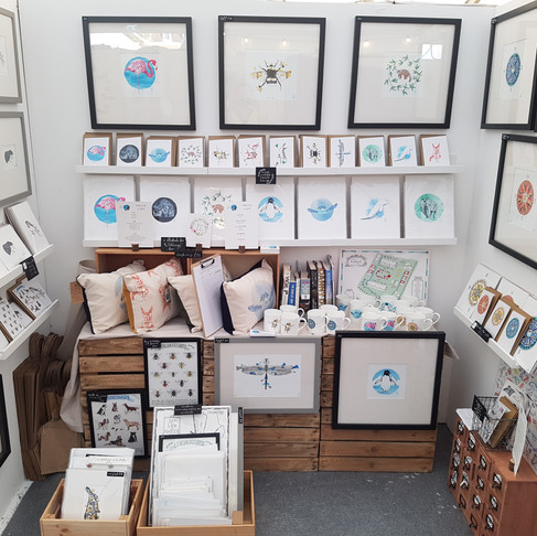 Howell Illustration's Markets for July and August