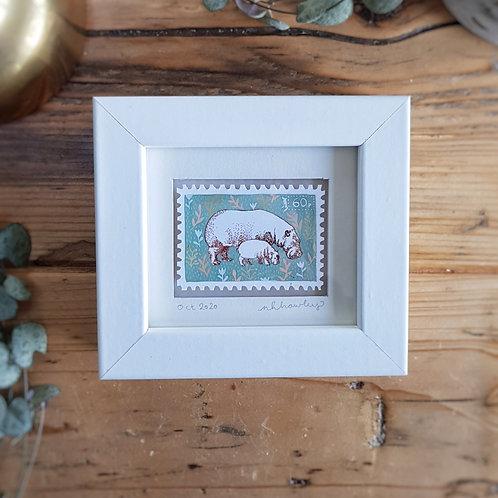 Custom Mini Stamp Art