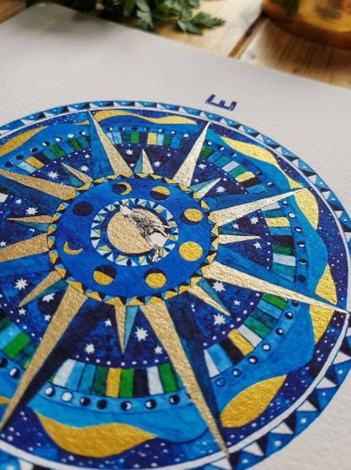 Compass Rose Limited Edition Art Prints