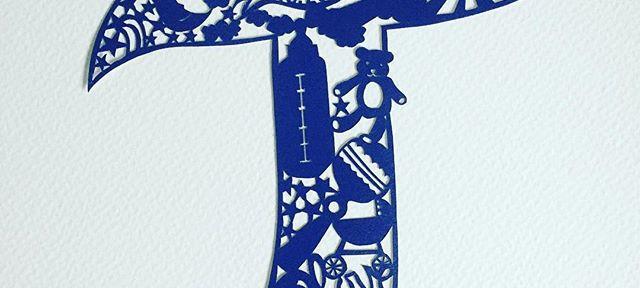 Another custom #papercut just sprayed an