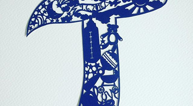 Another custom #papercut just sprayed an