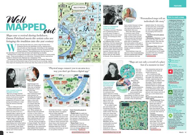 Essential Surrey Magazine, March 2021