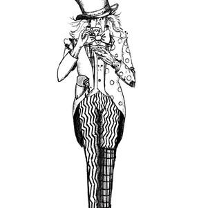 Mad Hatter Illustration