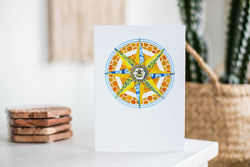Compass Rose Cards | Original Seasonal Designs | Eco Friendly