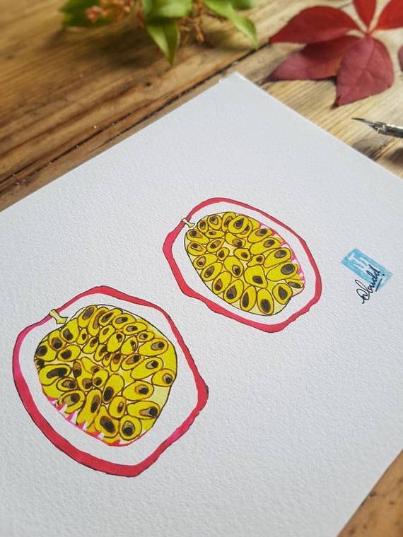 Passionfruit Art