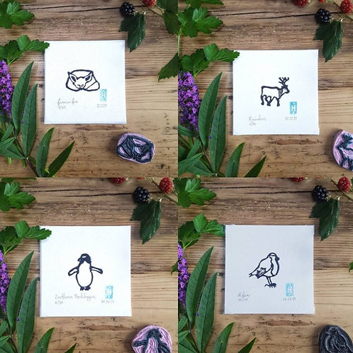 Mini Original Lino Prints | SALE