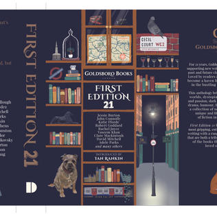 First Edition 21, Illustrated Book Cover for Goldsboro Books