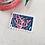 Thumbnail: Coral Mini Stamp Art | Original Art | Howell Illustration