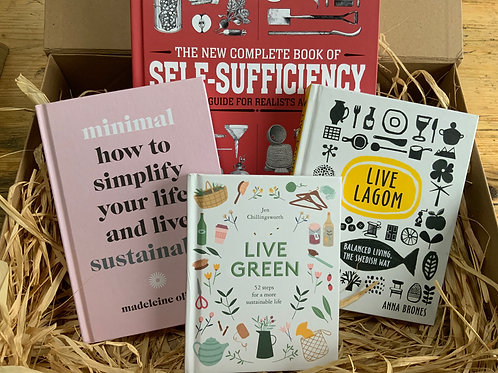 Ultimate Sustainability Book Box | Book Gift Set