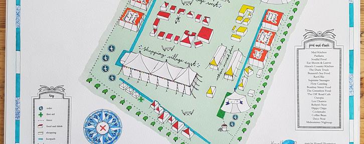 The Handmade Fair Site Map