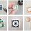 Thumbnail: Catnip Mini Stamp Art | Original Art | Howell Illustration