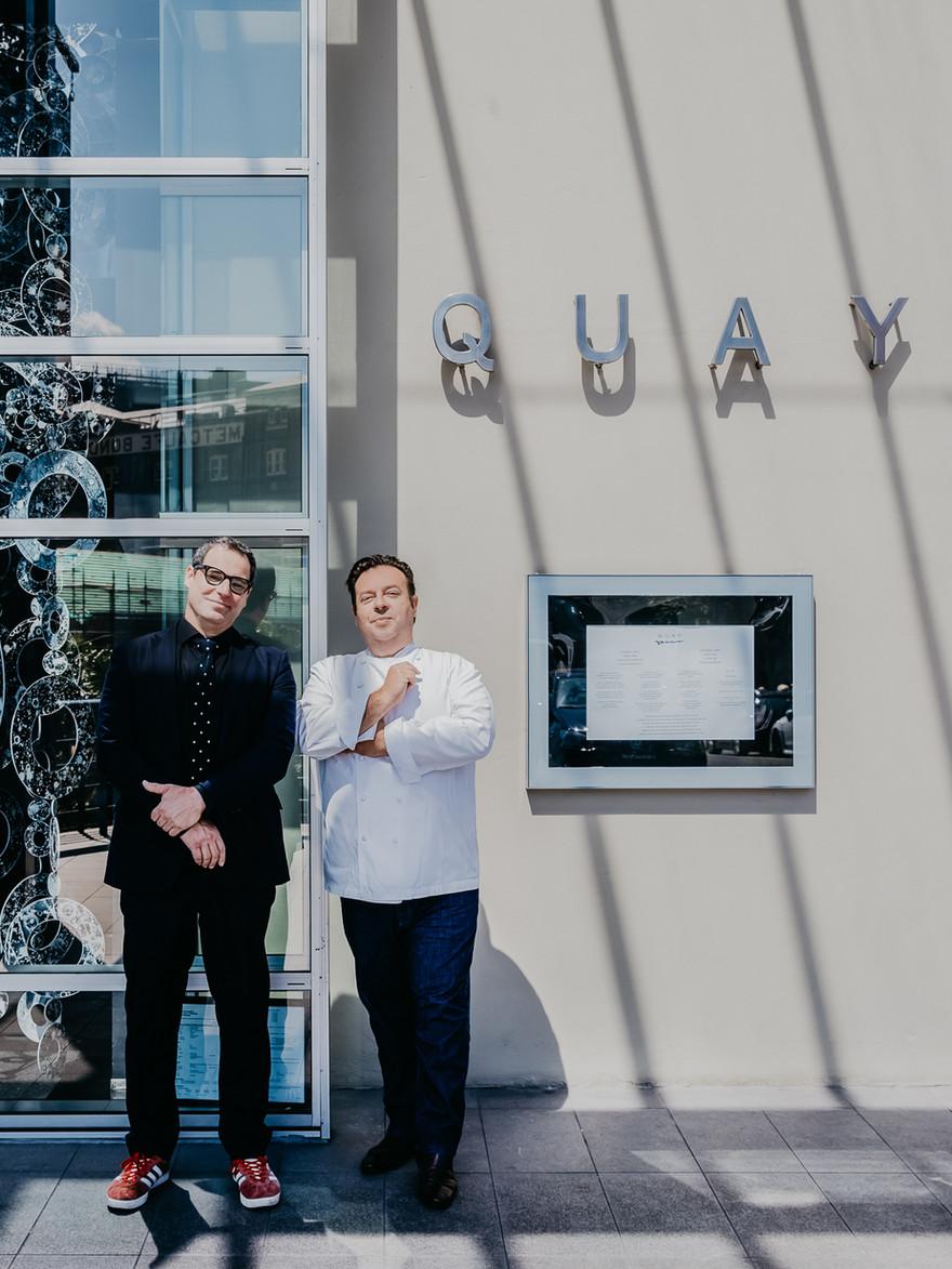 JOHN FINK + PETER GILMORE | QUAY