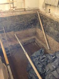 Basment excavation