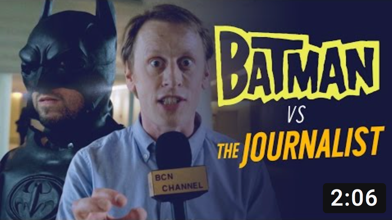 Batman Vs Journalist