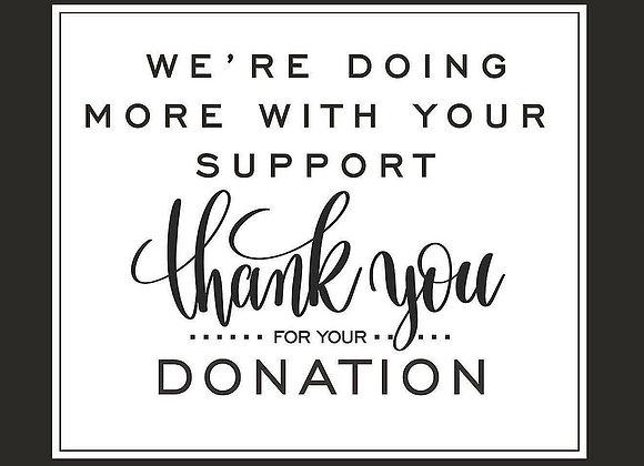 $50 Team Donation