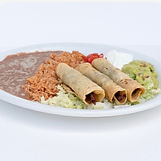 #4 Three Taquitos