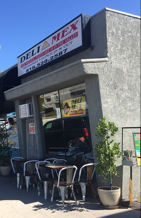 Deli Mex is a Mexican Restaurant / Juice bar located in Sherman Oaks.