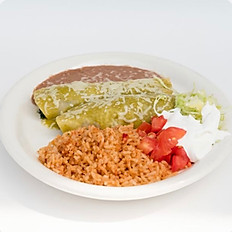 #5 Green Enchiladas