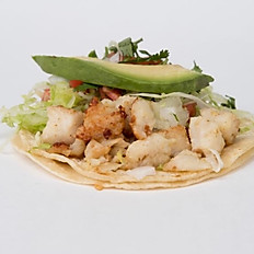 Cancun Fish Taco Plate