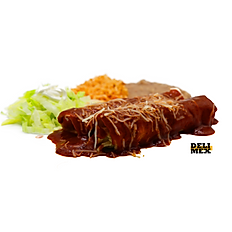 #3 Red Enchiladas