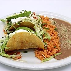 #2 Hard Shell Tacos