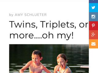 Twins, Triplets, or more....oh my! - Re-Post from Mabelhood