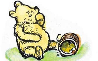 Take it from Pooh, there's always another drop of honey