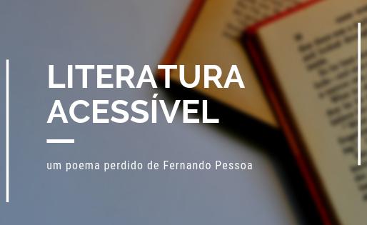 Um poema perdido de Fernando Pessoa